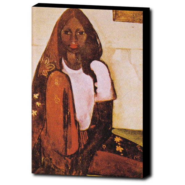 Premium Canvas Gallery Wrap - The Child Bride By Amrita Sher-Gil