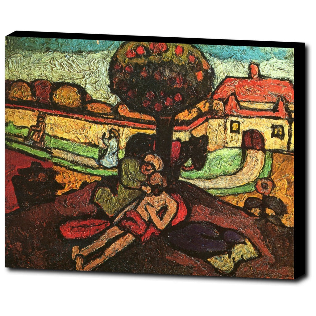 Premium Canvas Gallery Wrap - The Good Samaritan By Paula Modersohn-Becker
