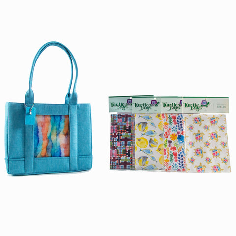 Bahama Blue Tote Bundle
