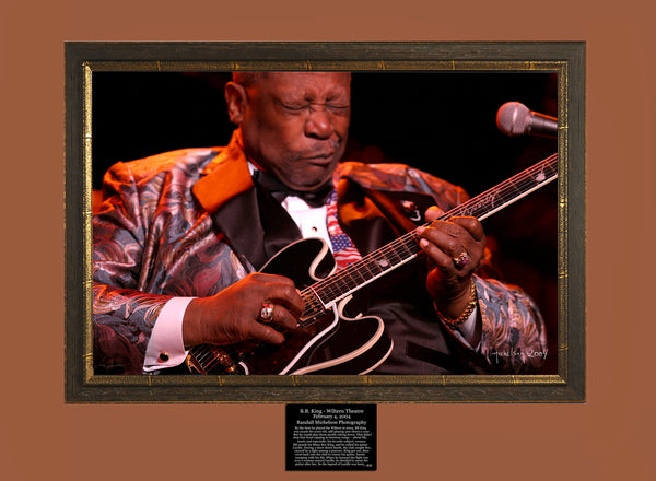 BB King Live at the Wiltern in Los Angeles