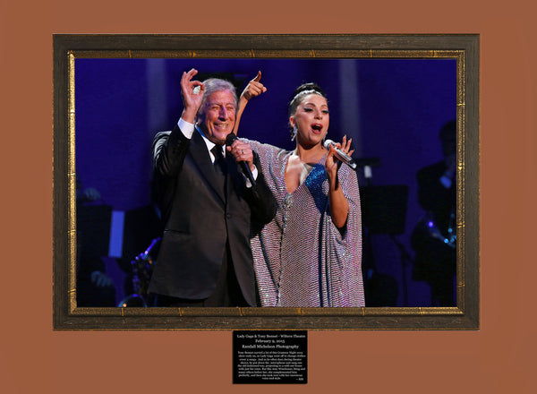Tony Bennett and Lady Gaga Live at the Wiltern Photograph