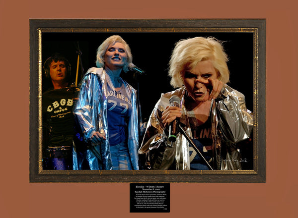 Blondie Live at the Wiltern Photograph