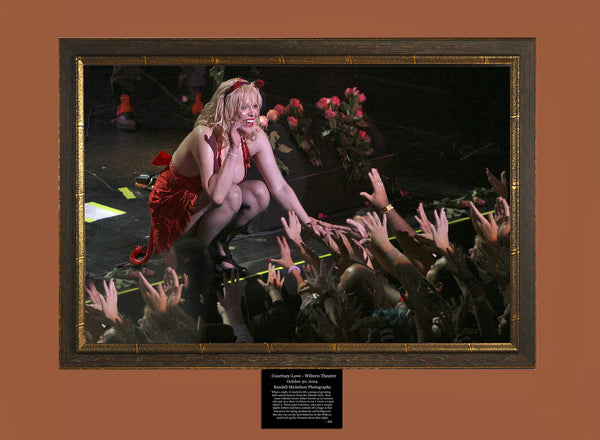 Courtney Love Live at the Wiltern Theater Los Angeles Photograph