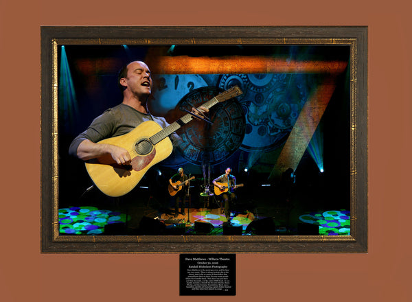 Dave Matthews Live at the Wiltern Theater Los Angeles Photograph