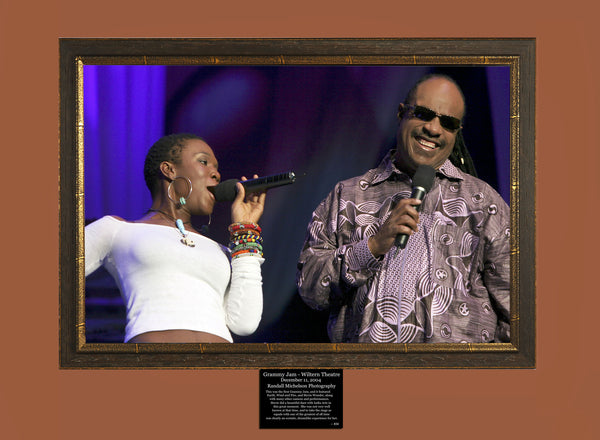 Grammy Jam with Stevie Wonder Live at the Wiltern Theater Los Angeles Photograph