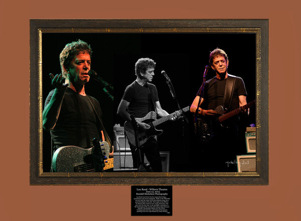 Lou Reed Live at the Wiltern Theater Los Angeles Photograph
