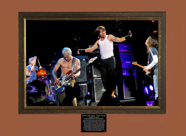 Red Hot Chili Peppers Live at the Wiltern Theater Los Angeles Photograph