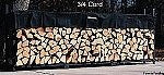The Woodhaven 12 Foot Firewood Log Rack with Cover