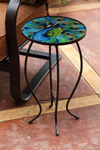 Peacock Side Table