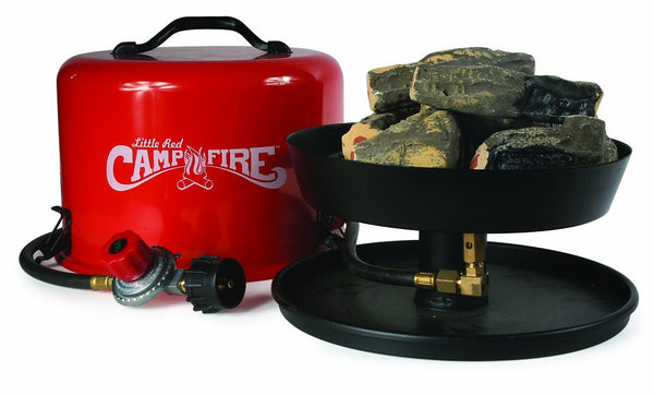 Camco 58031 Little Red Campfire Portable Propane Camp Fire