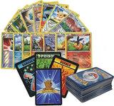 100 Assorted Pokemon Cards with Foils & Bonus 10 Promos! Plus Bonus 3 Free Golden Groundhog Token Counters!