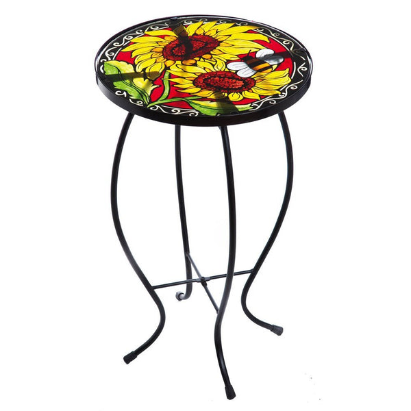 Evergreen Enterprises Vibrant Sunflowers Table