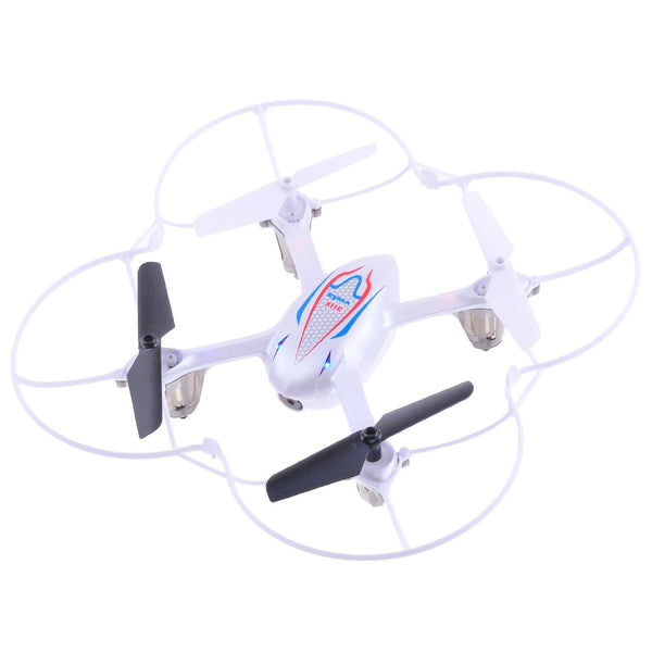 Syma X11C RC Quadcopter with Camera & LED Lights - White