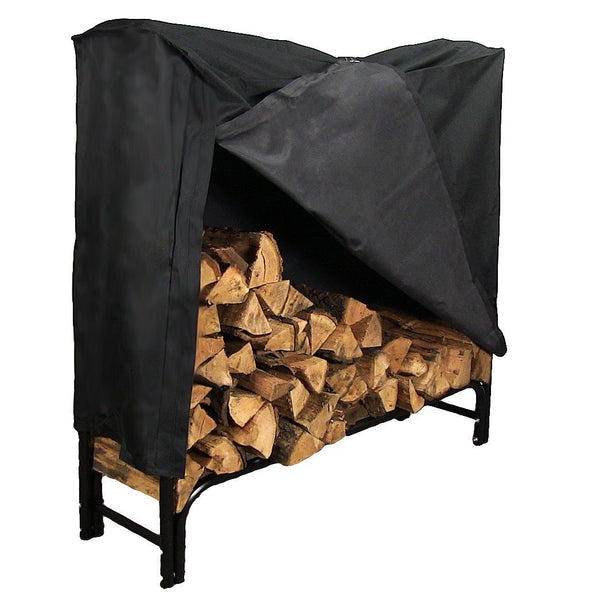 Sunnydaze 4-Foot Firewood Log Rack Cover