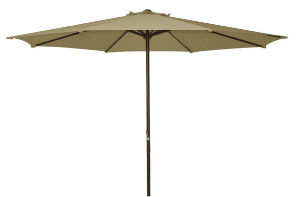 Ace Evert Market Umbrella 8011S, 9 ft, Polyester, Beige