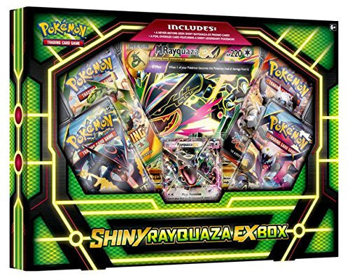 Pokemon Mega Shiny Rayquaza EX Collection Box