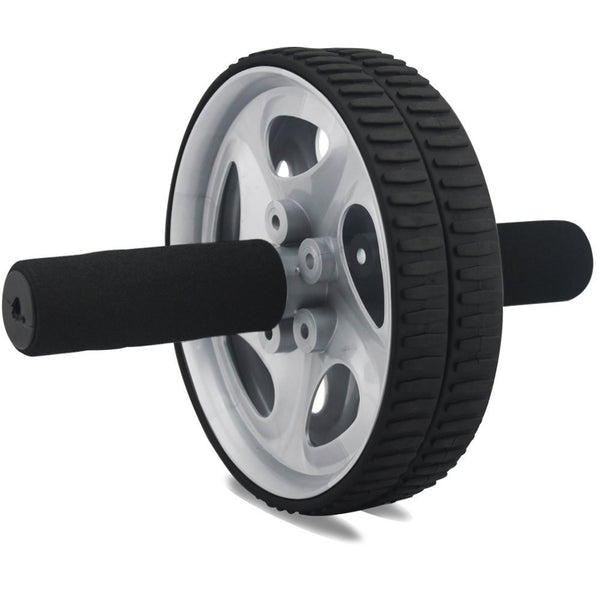Ab Wheel Roller,For Full Body Exercise, strengthen & tone abs, shoulders, arms, and back.Comfortable plastic grips. Effectively develop & strengthen the stomach area