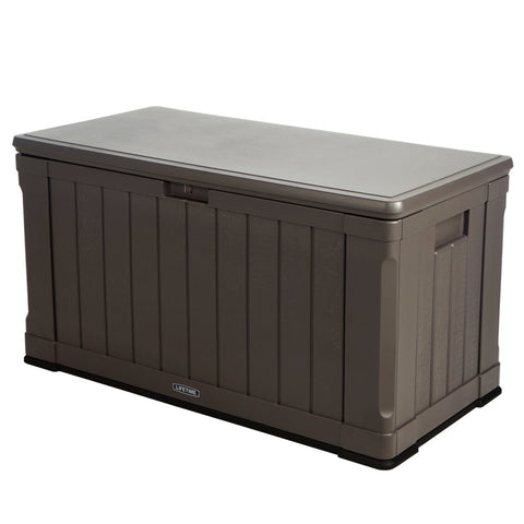 Lifetime 60089 Deck Storage Box, 116 gallon