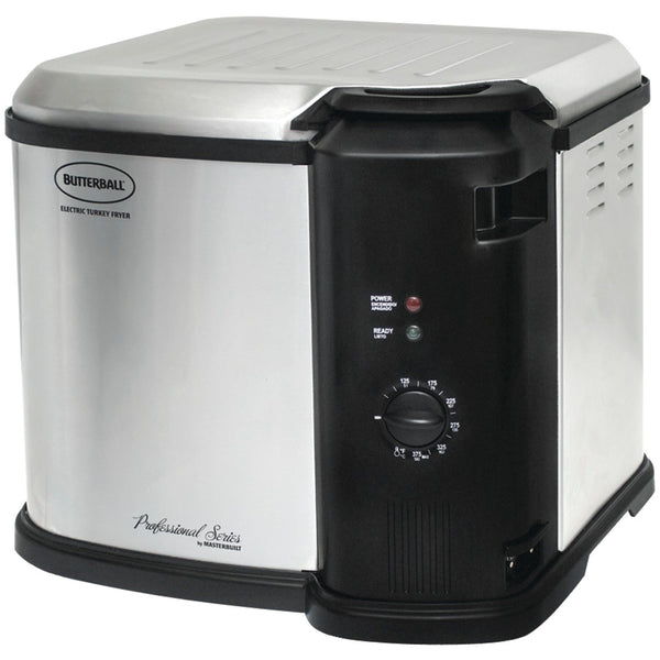 Masterbuilt 23011014 Butterball Indoor Gen III Electric Fryer Cooker Large Capacity