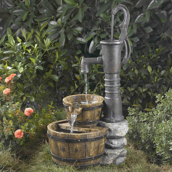 Jeco Old Fashion Water Pump Water Fountain