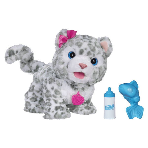 FurReal Friends Flurry, My Baby Snow Leopard Pet