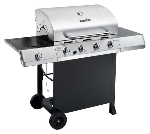 Char-Broil Classic 40,000 BTU 4-Burner Gas Grill with Side Burner - 56 inches (463436215)