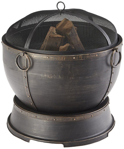 "Pleasant Hearth Athena Deep Bowl 28"" Fire Pit"