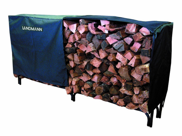 Landmann USA 82471 Heavy Duty Log Rack Cover, 8-Feet