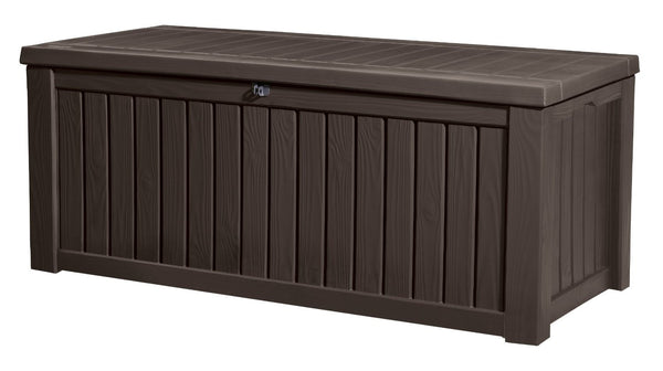 Keter Rockwood Deck Box, 150-Gallon