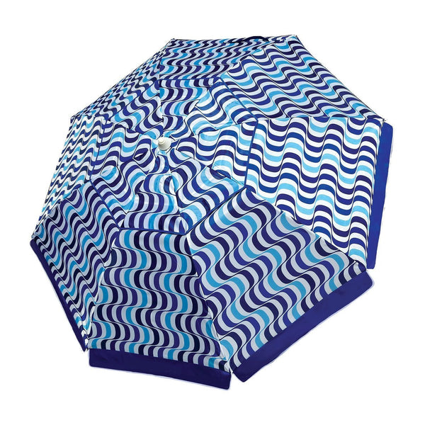 Nautica 7 Foot Beach Umbrella (Blue)