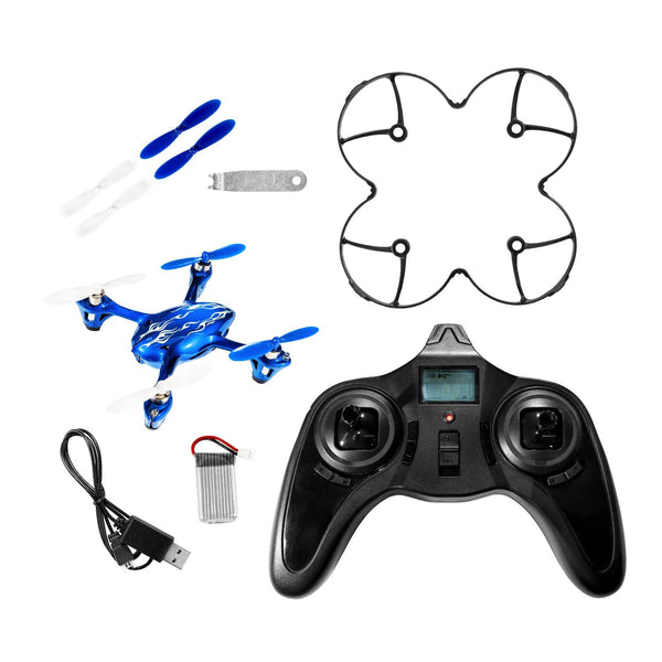 Hubsan X4 H107C 2.4G 4CH RC Quadcopter With HD 2 MP Camera RTF - (Special Royal Blue Edition - Tekstra Brands Exclusive!!)