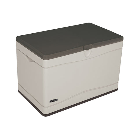 Lifetime 60103 Deck Storage Box, 80 gallon