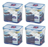 (Pack of 4) Lock&Lock Food Container, Tall, HPL808, 3.5-Cup, 29-Oz