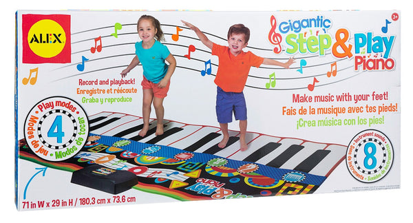 ALEX Toys Gigantic Step & Play Piano