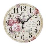 Home decoration large wall clocks silent wall clock vintage home decor fashion big wall watches