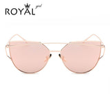 Designer Womens Sunglasses Metal Frame Flat Sun glasses Vintage Mirror Shades ss495