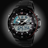 50M Waterproof Mens Sports Watches Men Silicone Sport Watch S Shockproof Electronic Wristwatch