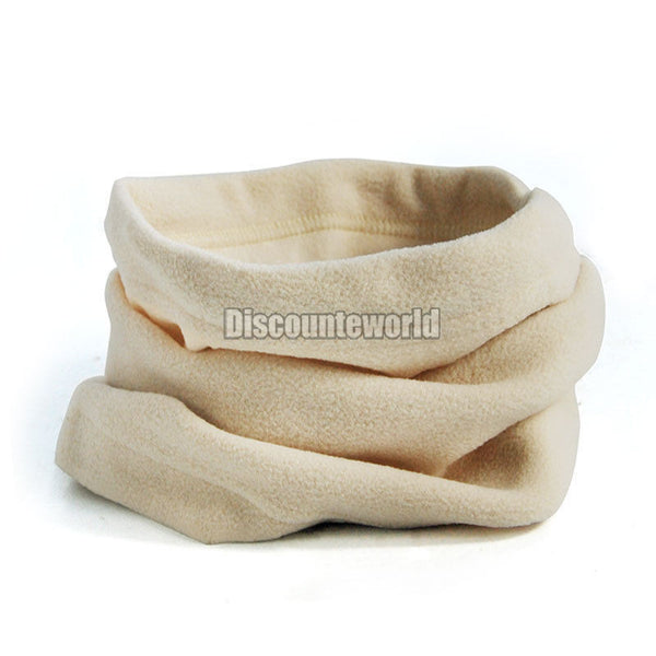3 in 1 Men Women Polar Fleece Snood Hat Neck Warmer Face Mask Winter bonnet Scarf Beanie Balaclava