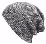 Winter Beanies Solid Color Hat Unisex Plain Warm Soft Beanie Skull Knit Cap Hats Knitted Caps For Men Women
