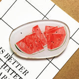 1 PCS Cartoon Acrylic Brooch Clothing Backpack Accessories Badges Decoration Pins Brooches