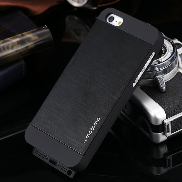 check out 03267 7737e 4s Luxury Aluminum Metal Brush Case for iphone 4 4S Phone Accessories Hard  Back Cover for iphone4 Original Logo High Quality
