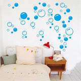 Creative Bubbles Wall Art Bathroom Window Shower Tile Decoration Decal Car Sticker Waterproof and Removable wall sticker