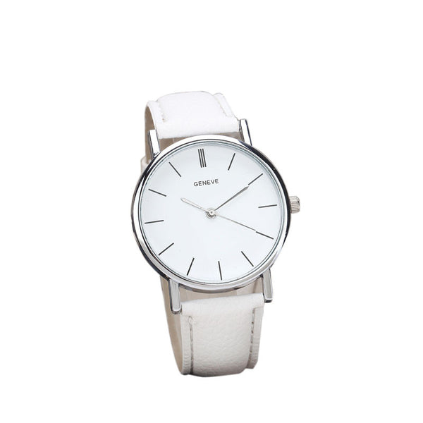 Fabulous Women watches Retro Design Leather Band simple design Analog Alloy Quartz Wrist watch