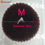 3 Colors Hair Accessories Womens Girls Hair Donut Bun Ring Shaper Styler Maker Brown Black Beige Selectable