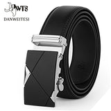 Designer Leather Strap Male Belt Automatic Buckle Belts For Men Belt Waistband