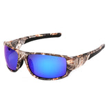 Top Sport Driving Fishing Sun Glasses Camouflage Frame Polarized Sunglasses Men/Women Brand Designer
