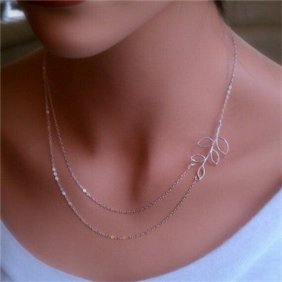 1pc Unique Charming Gold Tone Bar Circle Lariat Necklaces Women Multilayer Chain Necklaces Femme Party Jewelry