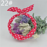Cute Leopard Dots lip print flower Bunny Rabbit Ear Ribbon Headwear Hairband Metal Wire Scarf Headband