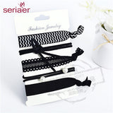 Trendy Elastic Womens Hair Accessories Tassel Hairband Jewelry Band For Girls, 5PCS Hair Tips Headwear