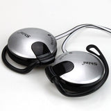 3.5mm Stereo Headphone Subwoofer Earphone Ear Hook Headset For Mobile Phone Headset